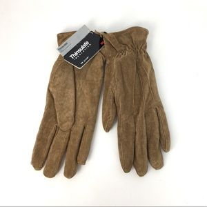VINTAGE 3M Thinsulate Genuine Suede Lined Gloves